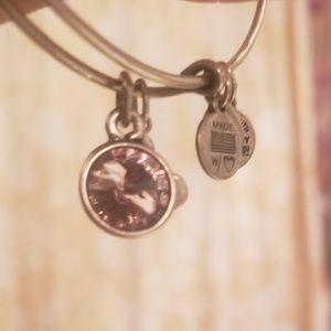 Alex and ani bangle with Mickey mouse June birth